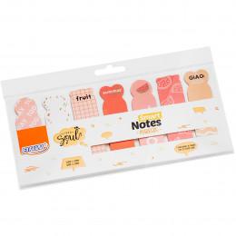 Marca Página Adesivo Smart Notes Markers Frutas 20 Folhas - BRW