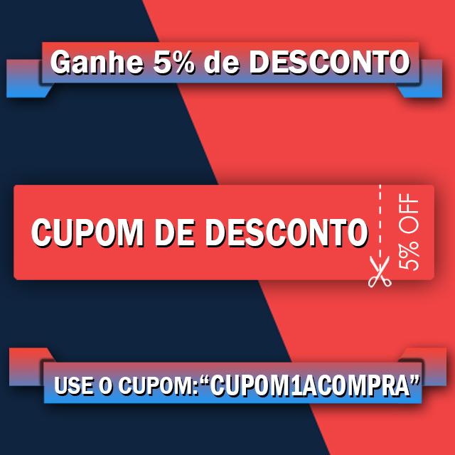Cupom de Desconto